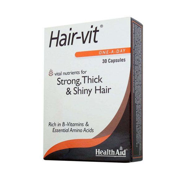 سافتژل مکمل رشد و تقویت مو هِیرویت ۳۰ عددی